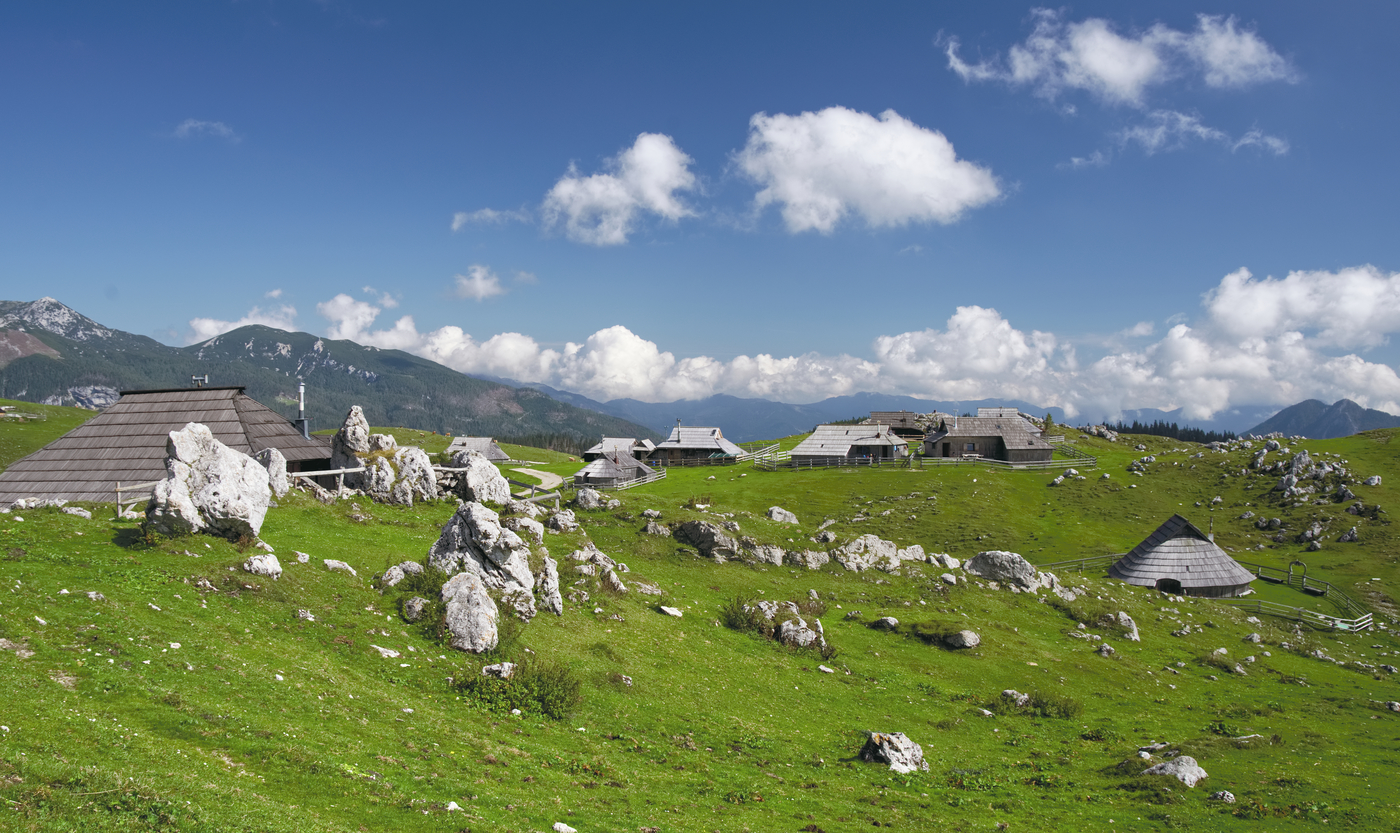 Náhorní planina ve Slovinsku
