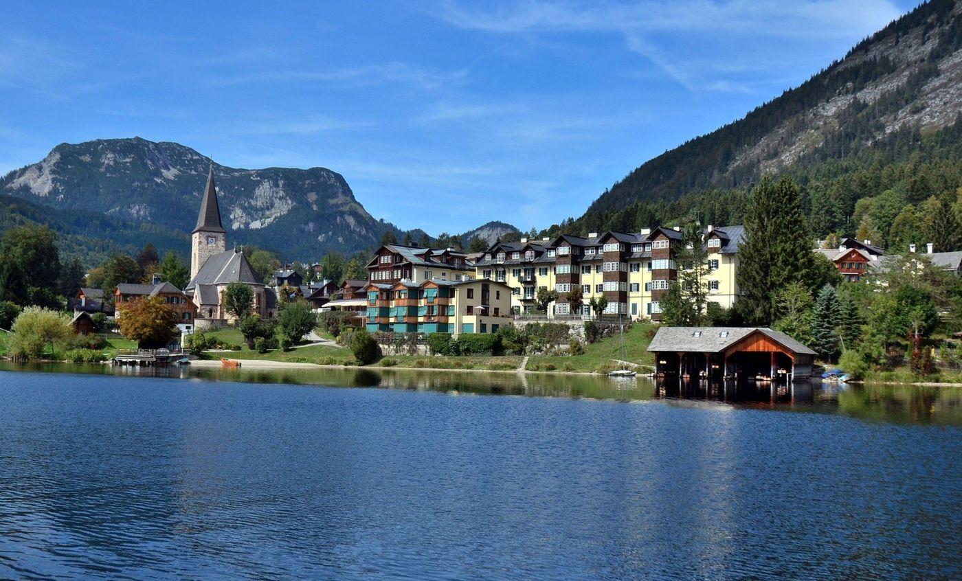 U jezera Altausser See.