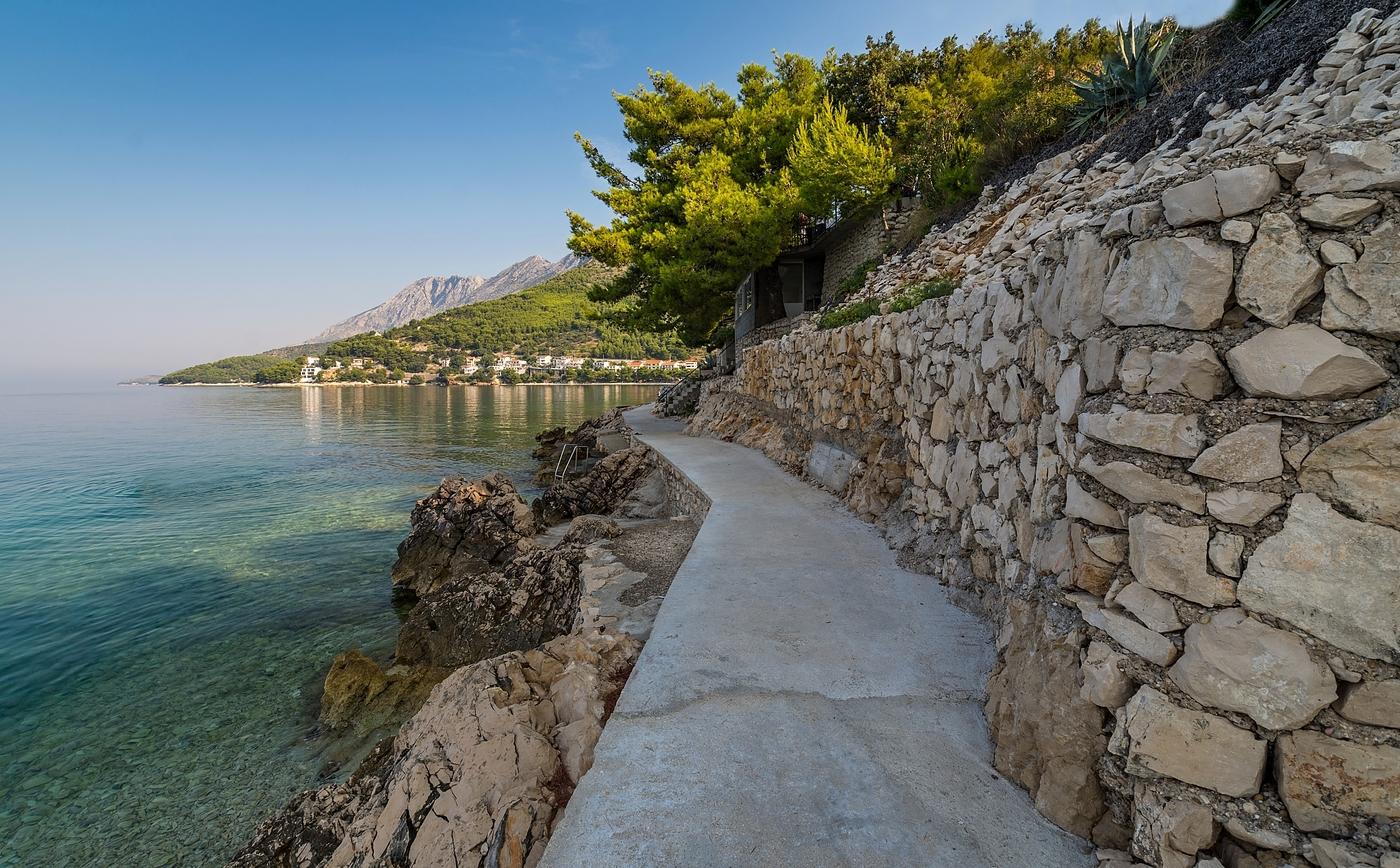 Chorvatským pobřežím