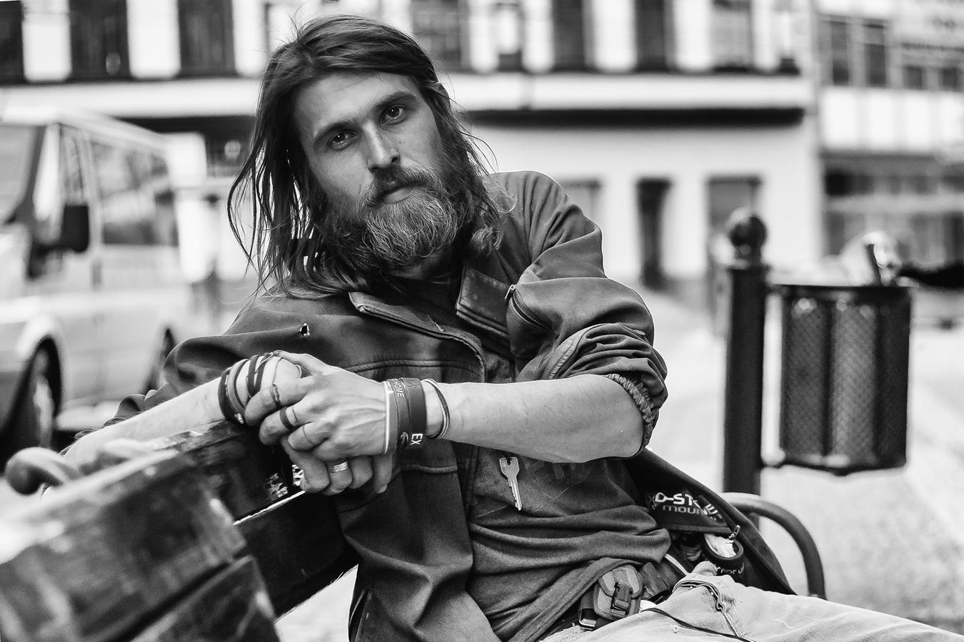 Portrét bezdomovce