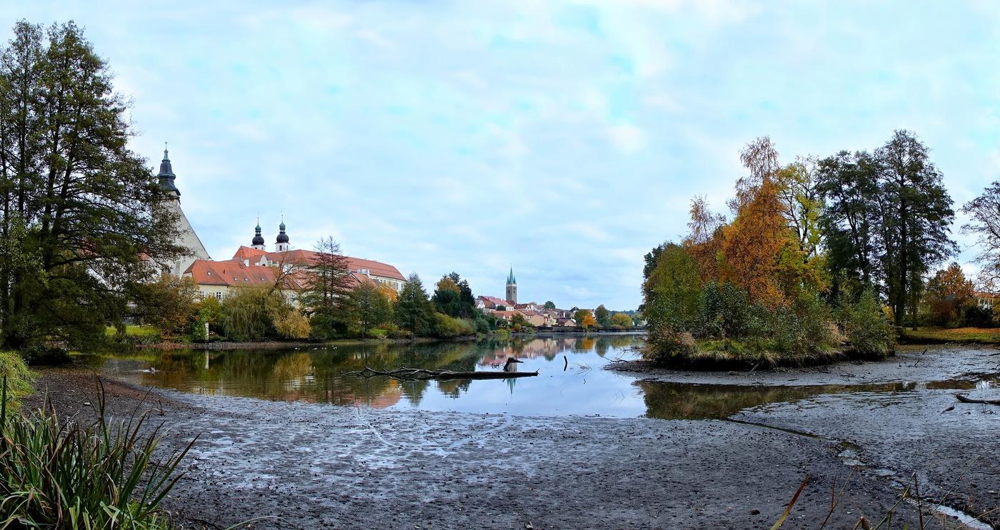 Podzim v Telči