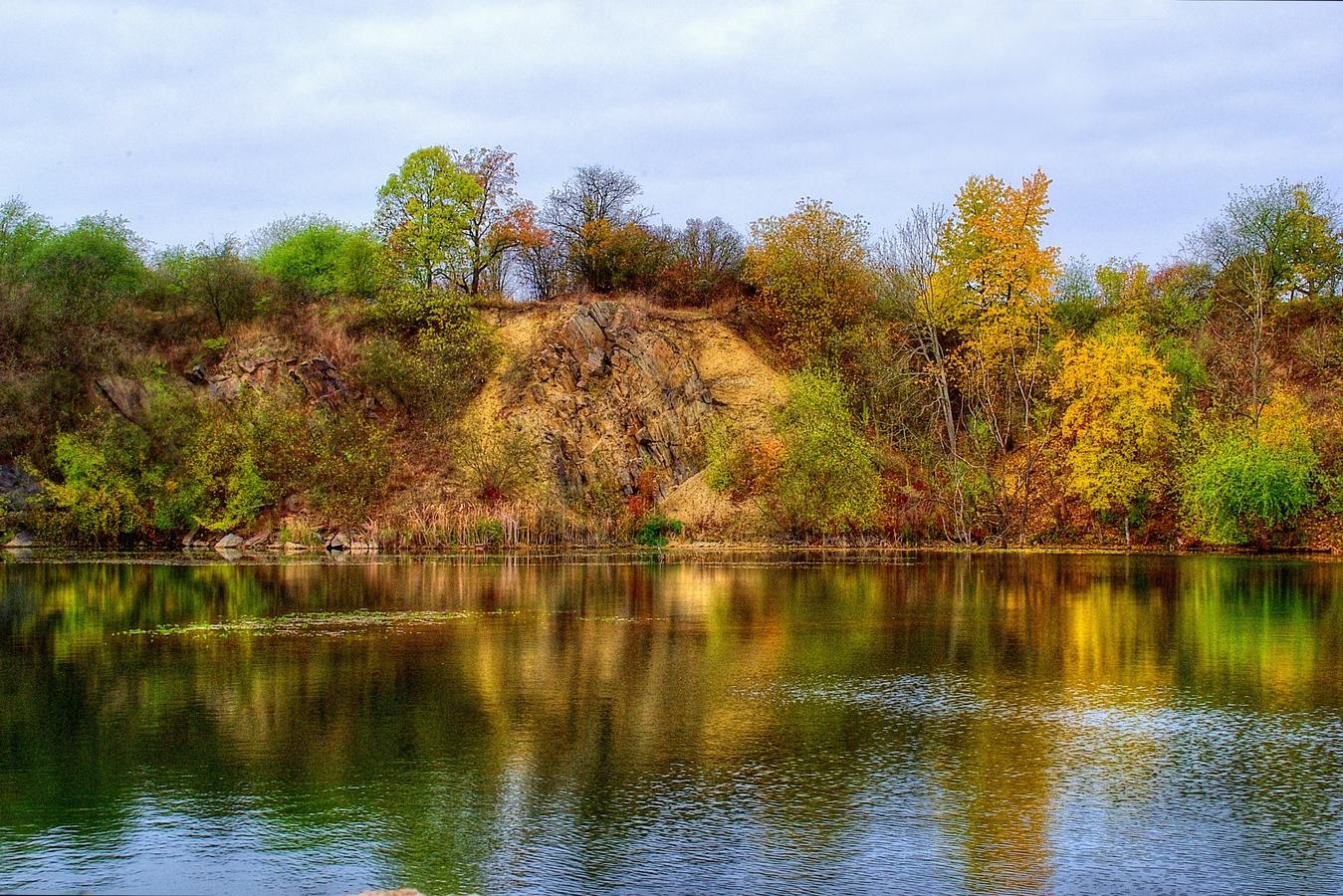 podzim v lomu