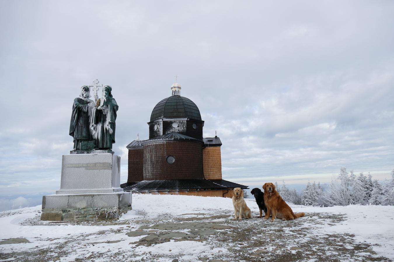 Zimní výlet na Pustevny