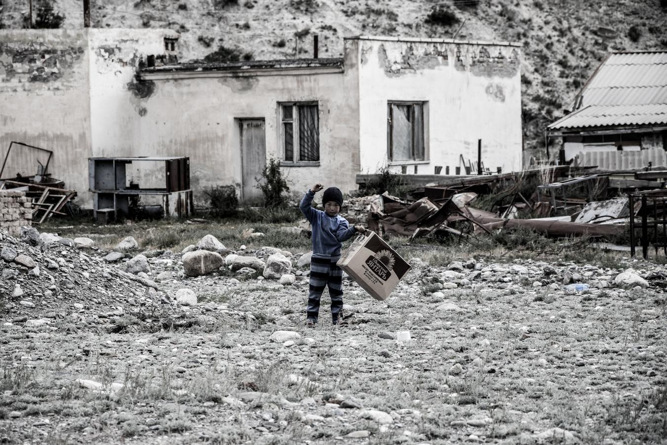 Kyrgyzský chlapec