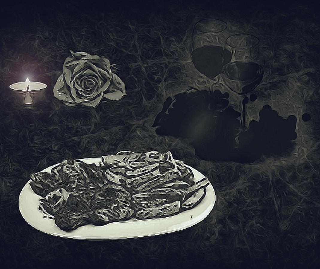 U večeře /fotografika/
