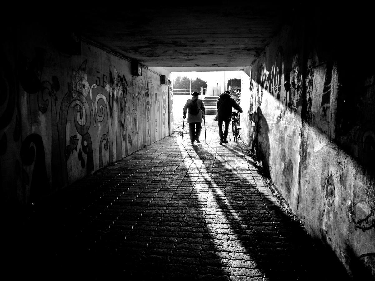 Podchodem za světlem