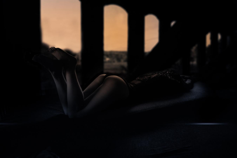 ,,podvečerní pozadí´´