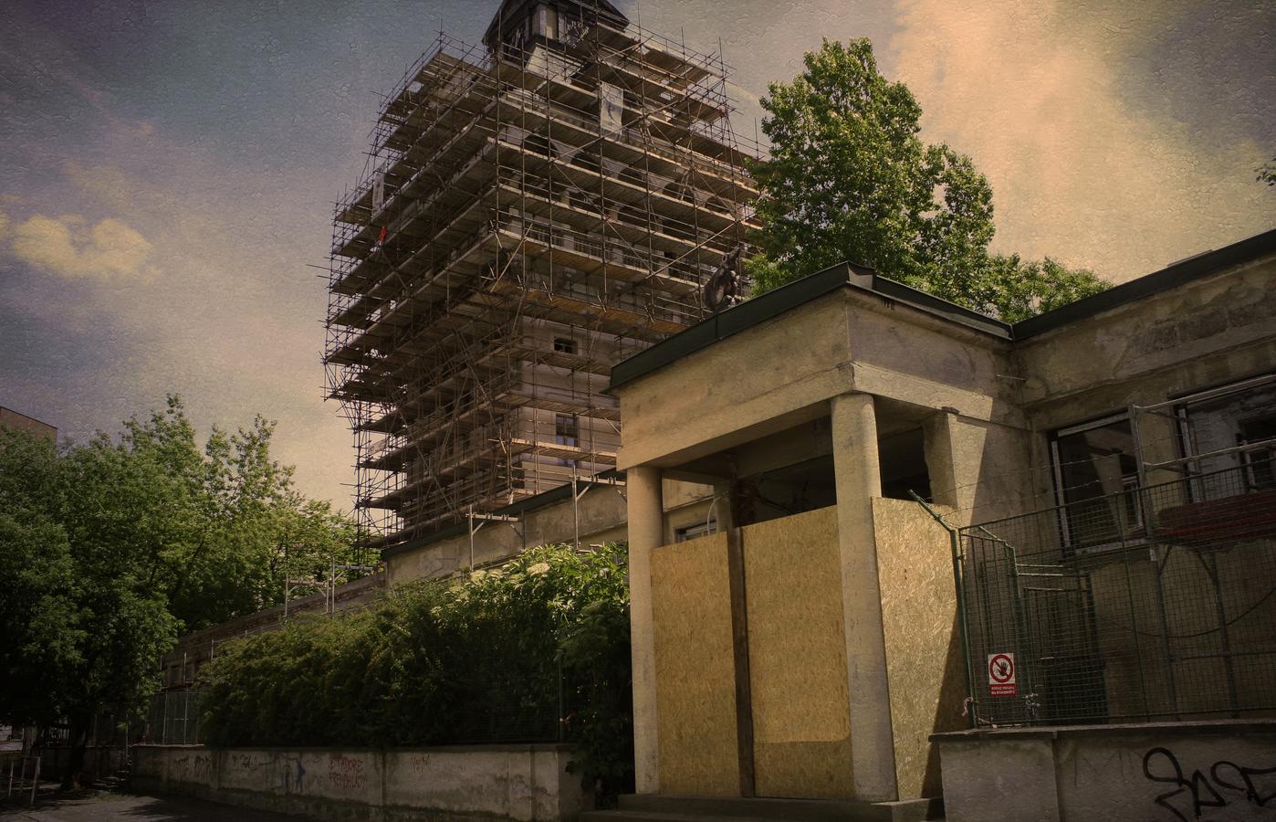 vodarenska vez v rekonstrukci Praha Letna