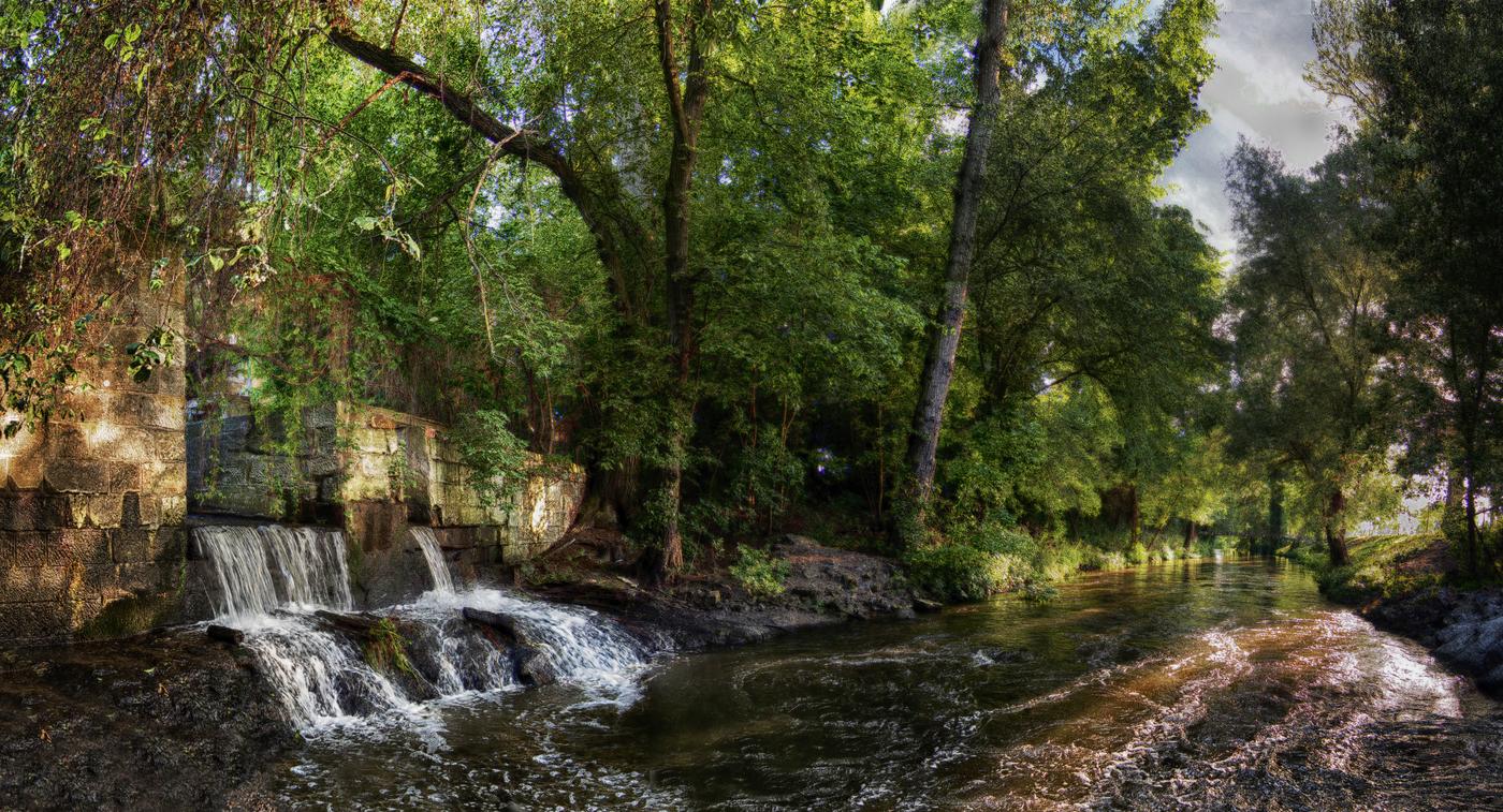 Čelákovické vodopády