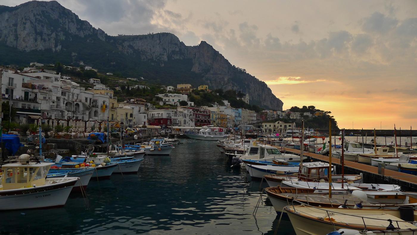 Podvečer na Capri
