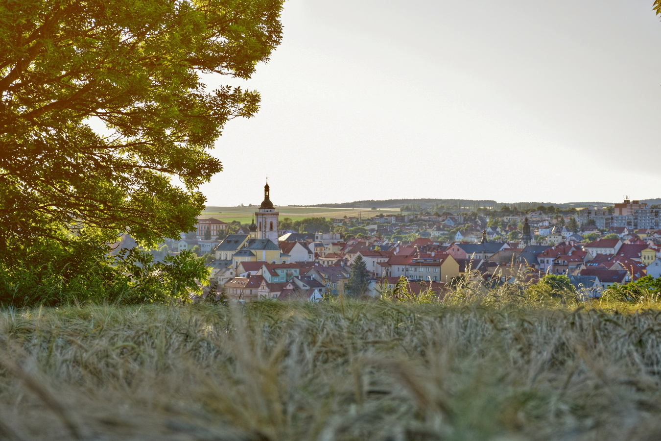 Pohled na město Stříbro