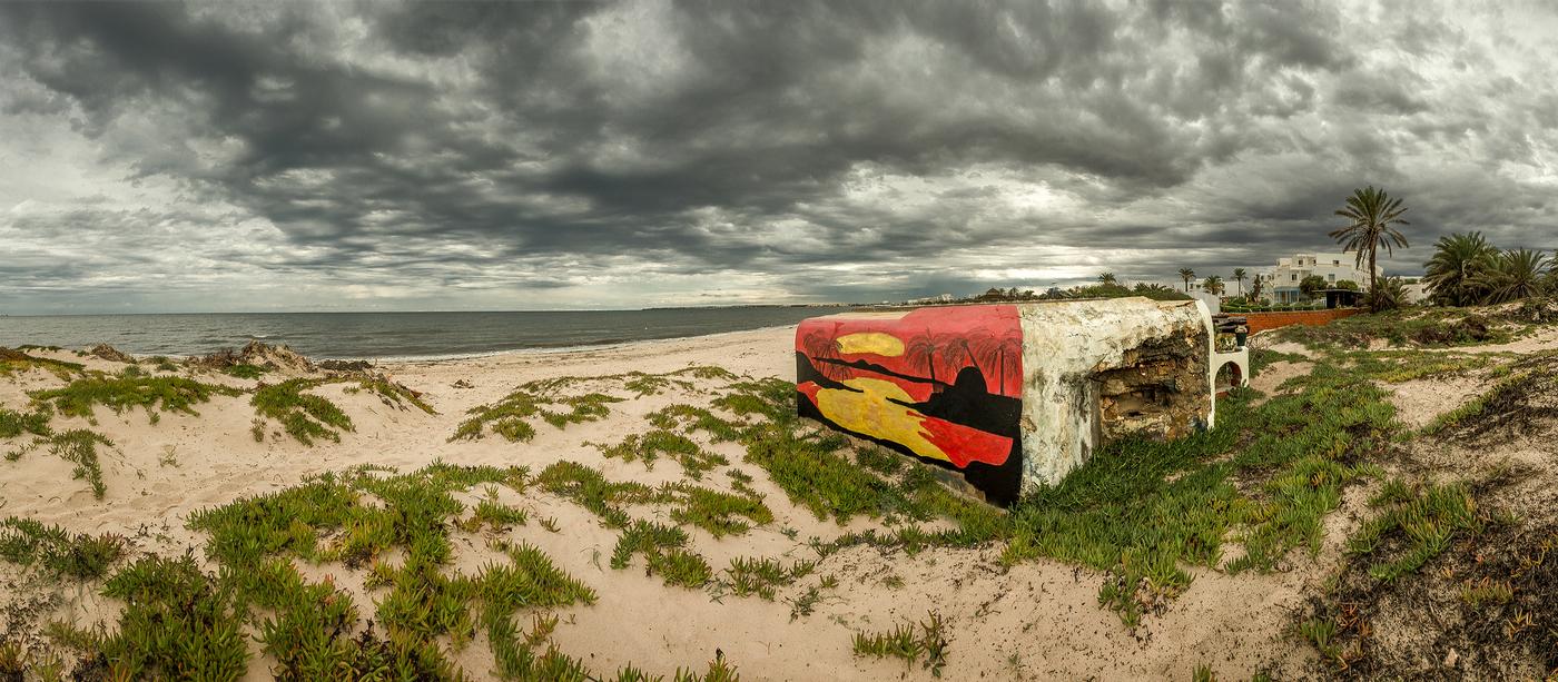 Bunkr na pobřeží
