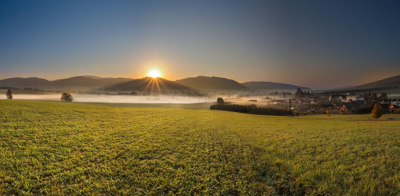 Mlhavé rána miluji