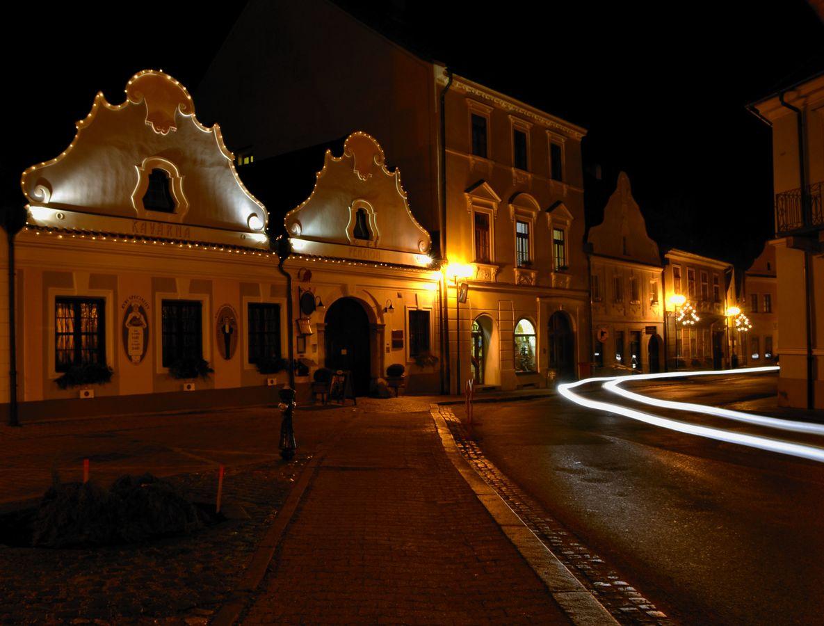 Noční jízda Třeboní