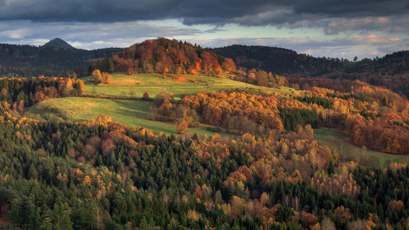 Podzim v Lužických horách