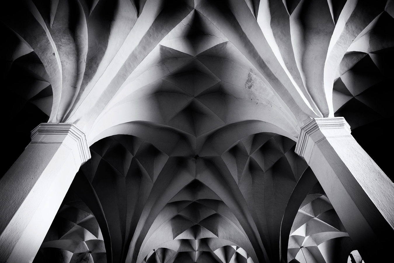 strop kostela