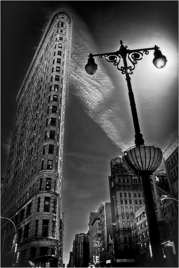Žehlička - Flatiron Building