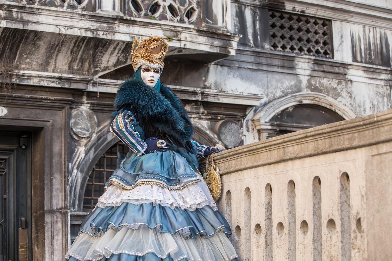 Z benátského karnevalu 2016