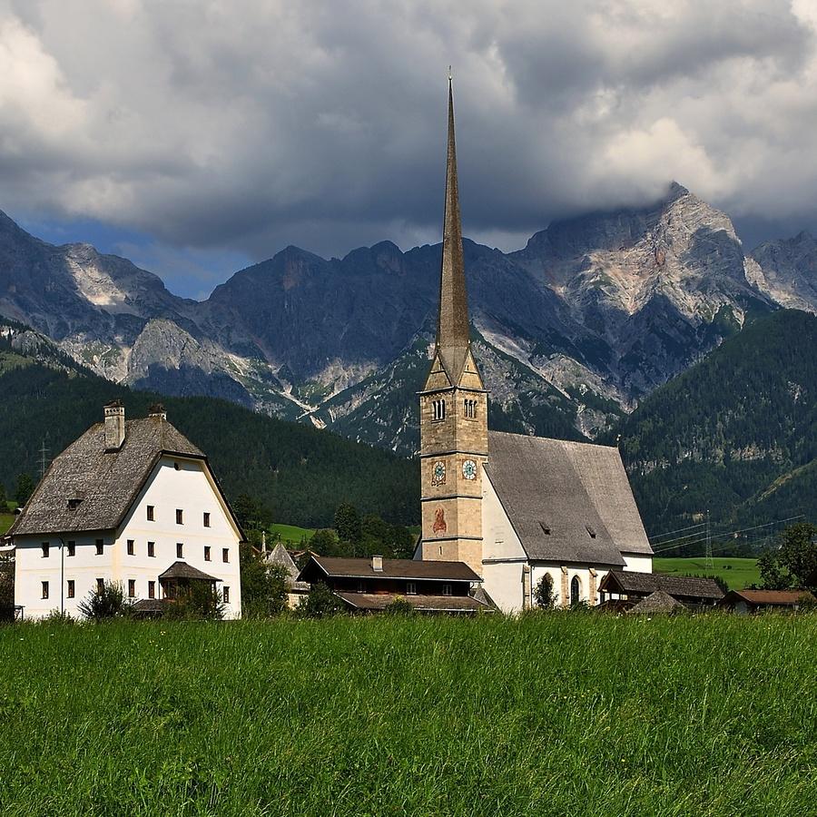Alpský kostel