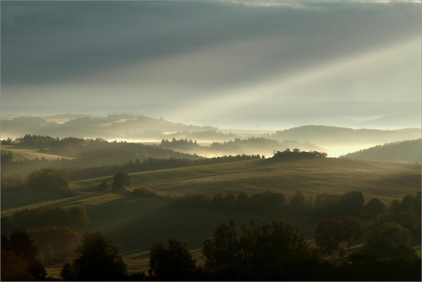 ranní mlhy
