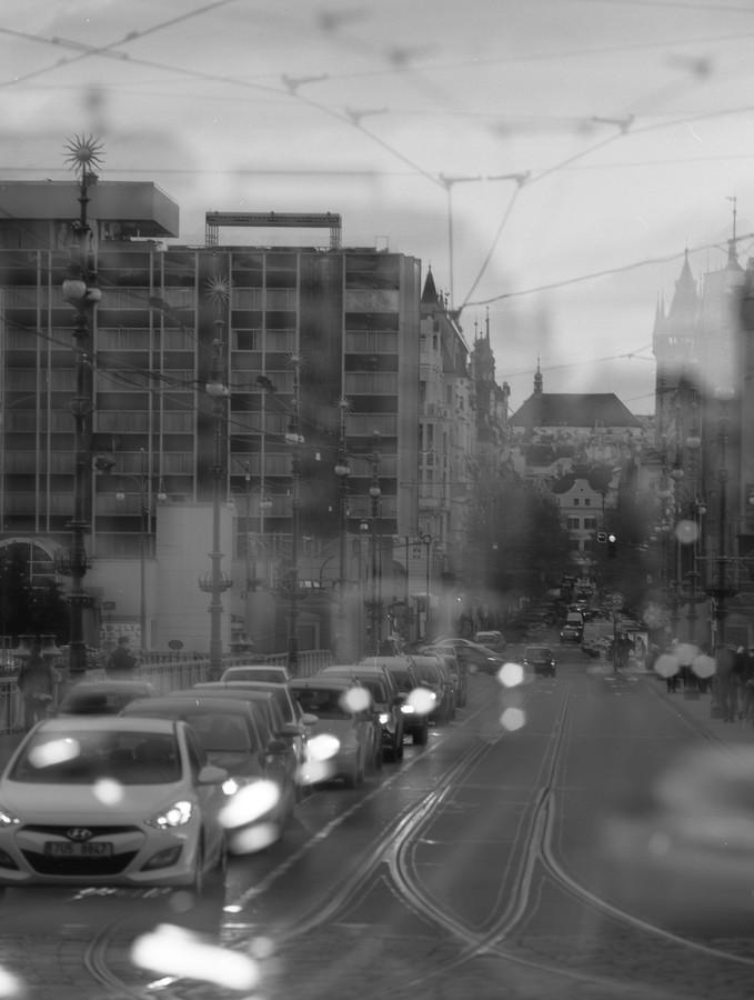 Tep města