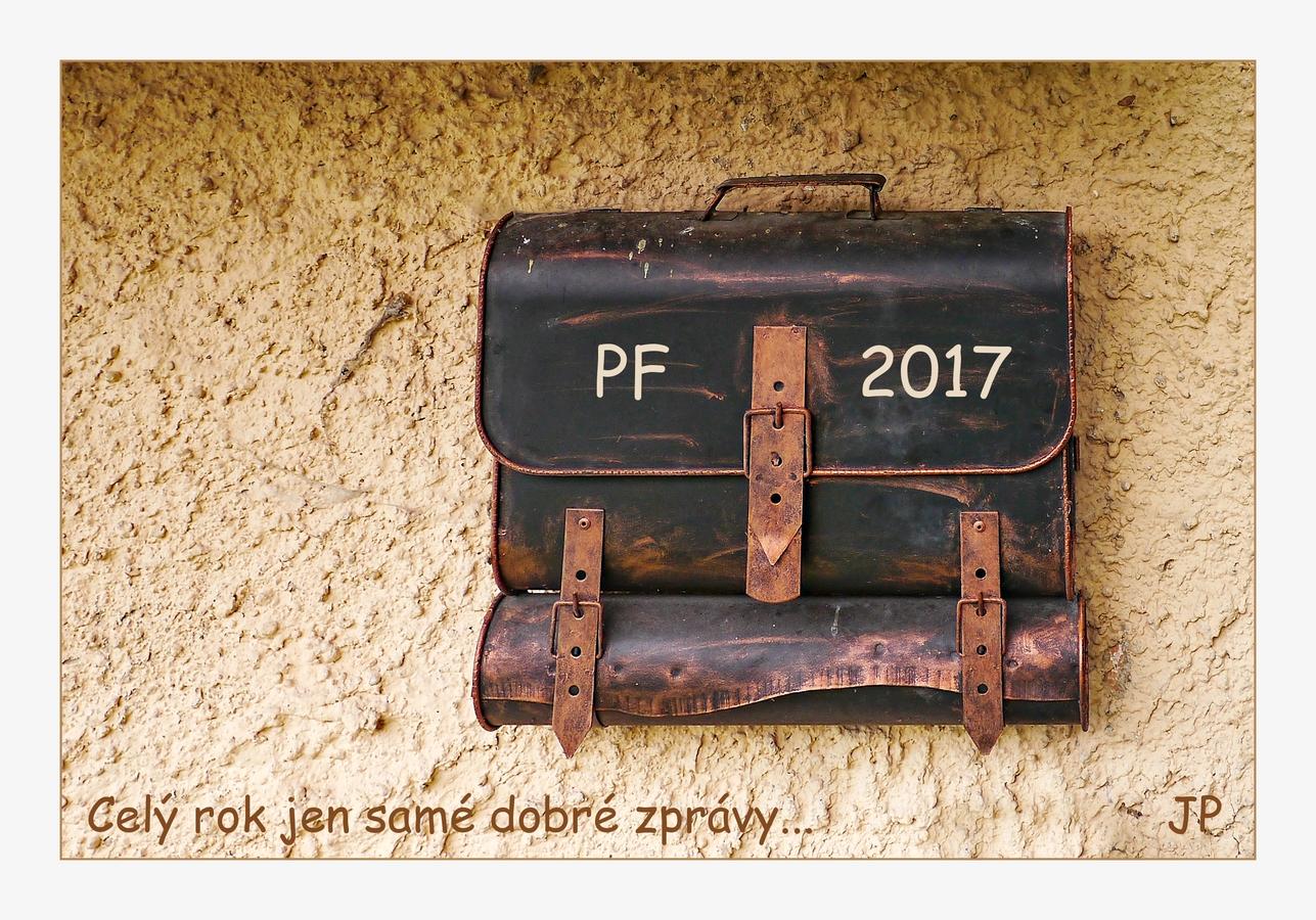 Přeji Vám všem rok plný radosti a naděje. Jolana P.