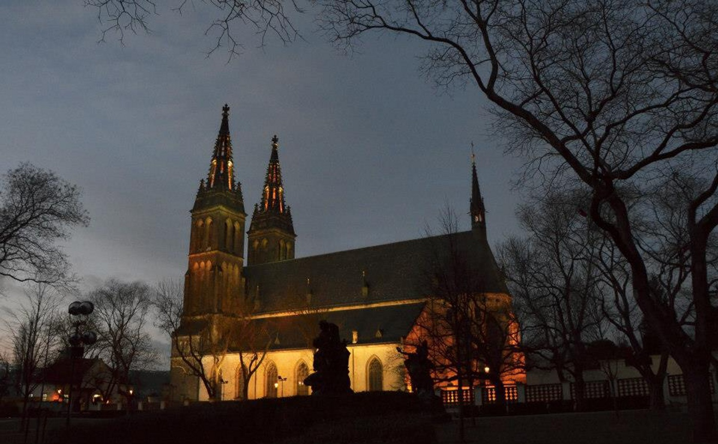 večerní procházka po Praze