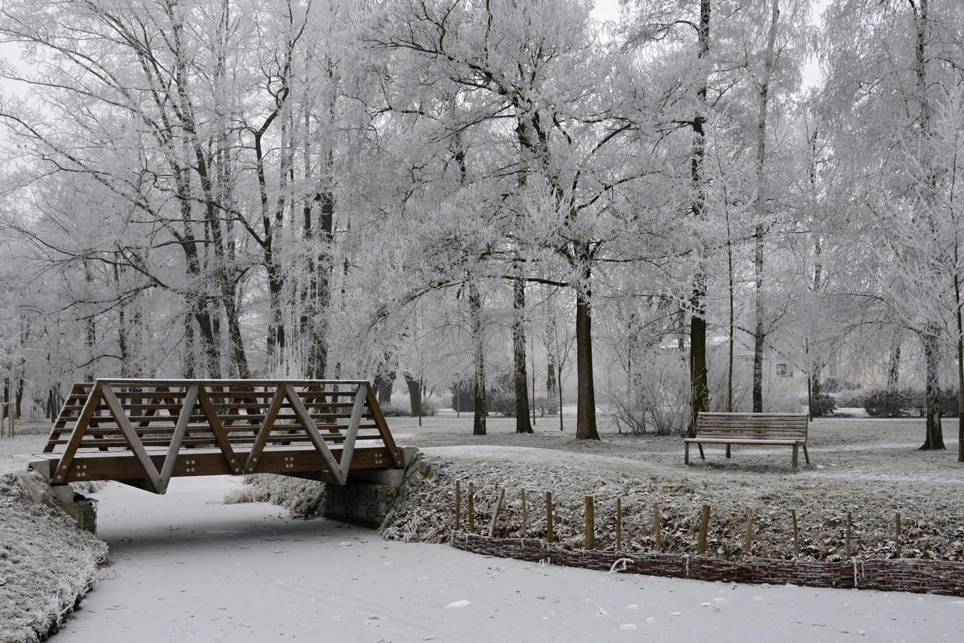 Zima v Prostějově