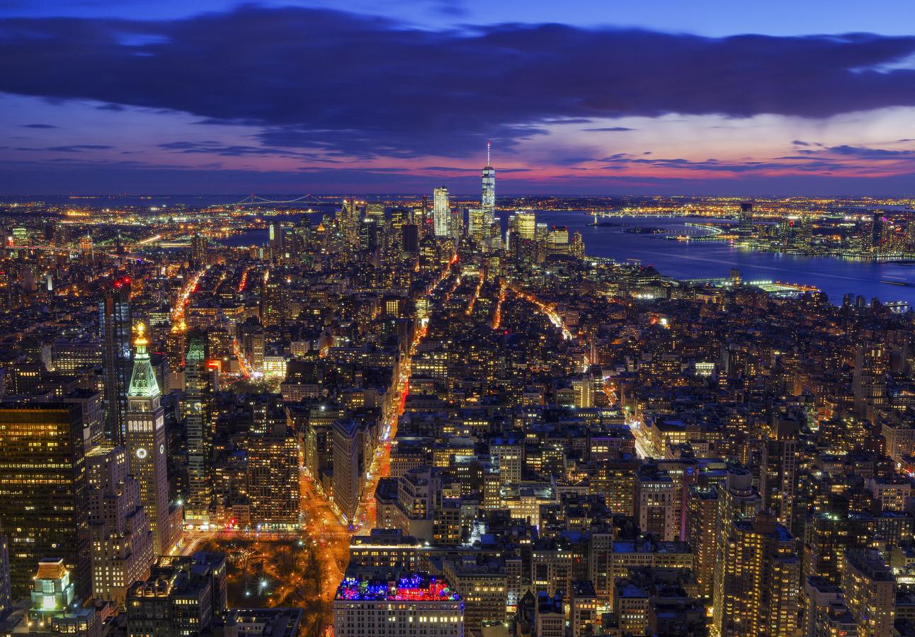 Podvečerní New York
