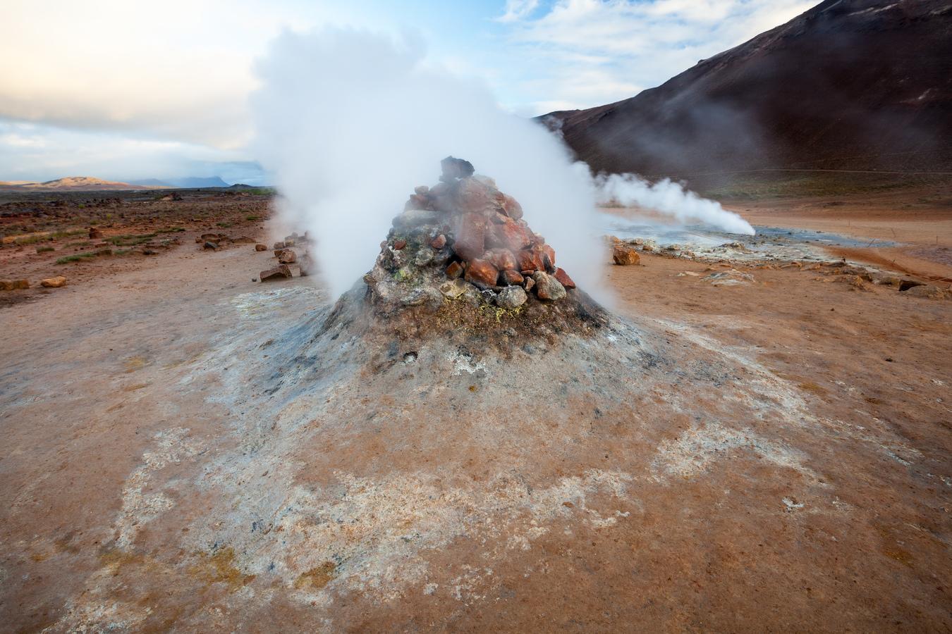 Geotermální pole Hverir Island