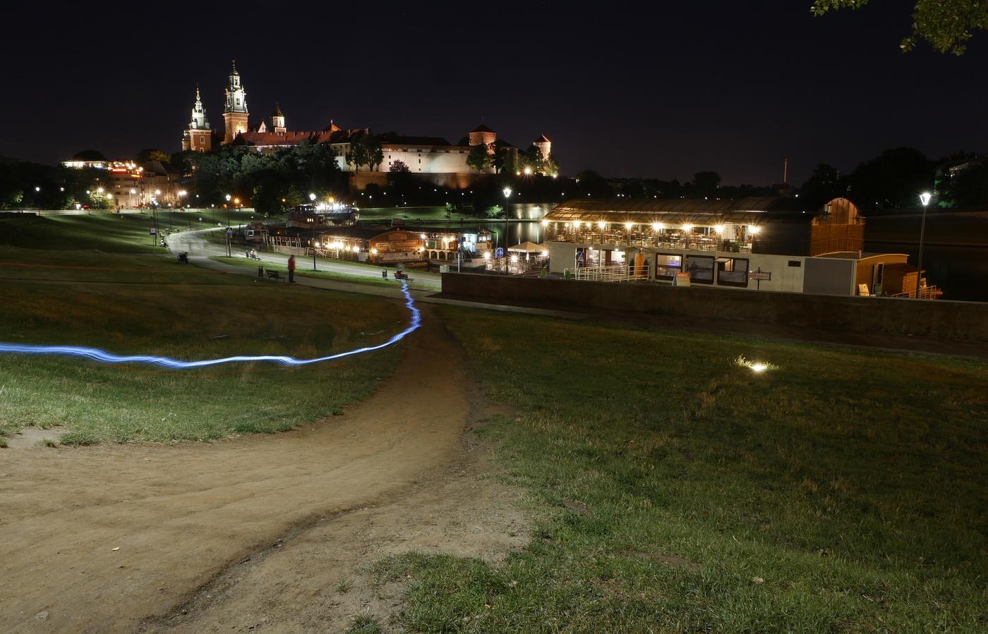 Kraków a hrad Wawel