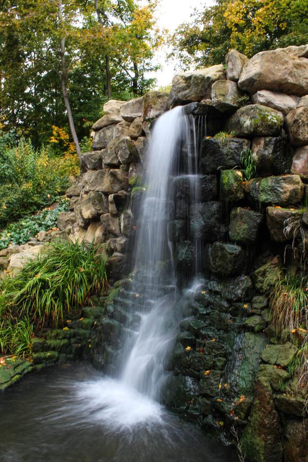 první vodopád