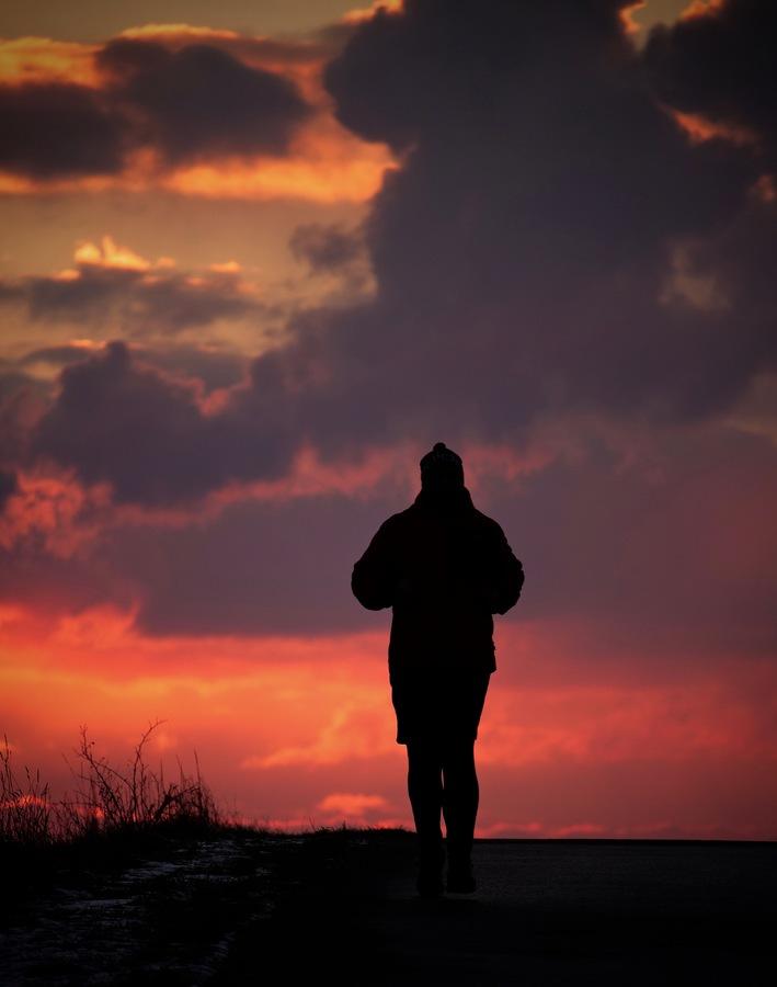 Večerní běžec