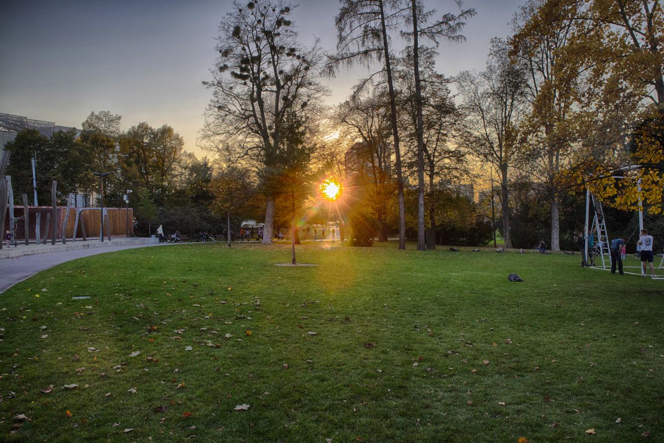 Západ slunce z pohledu amatéra