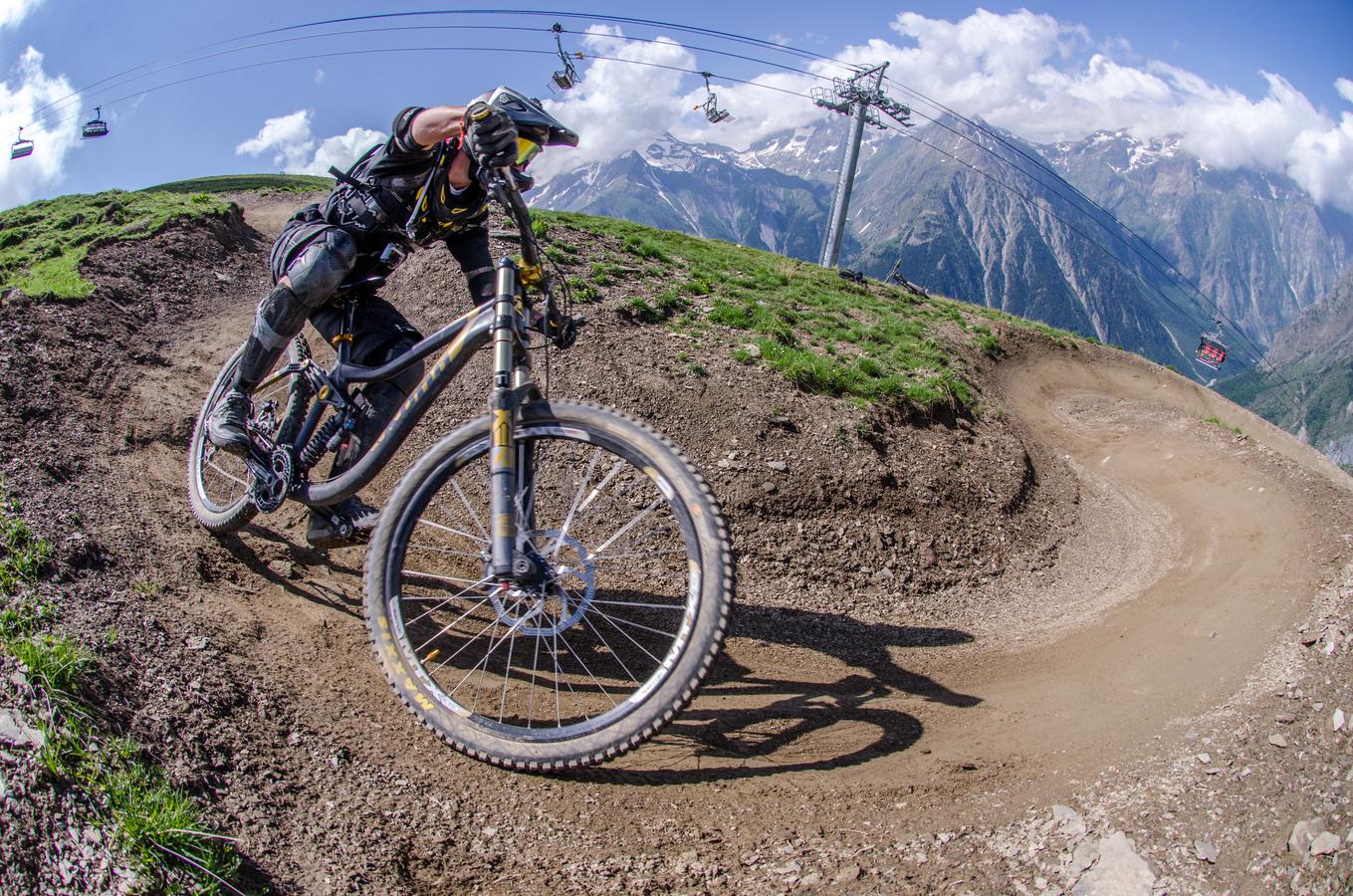 V zajetí Les Deux Alpes