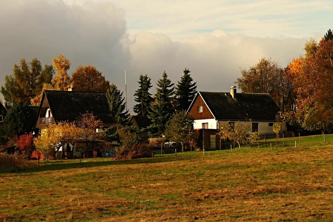 Podzim na Vysoké