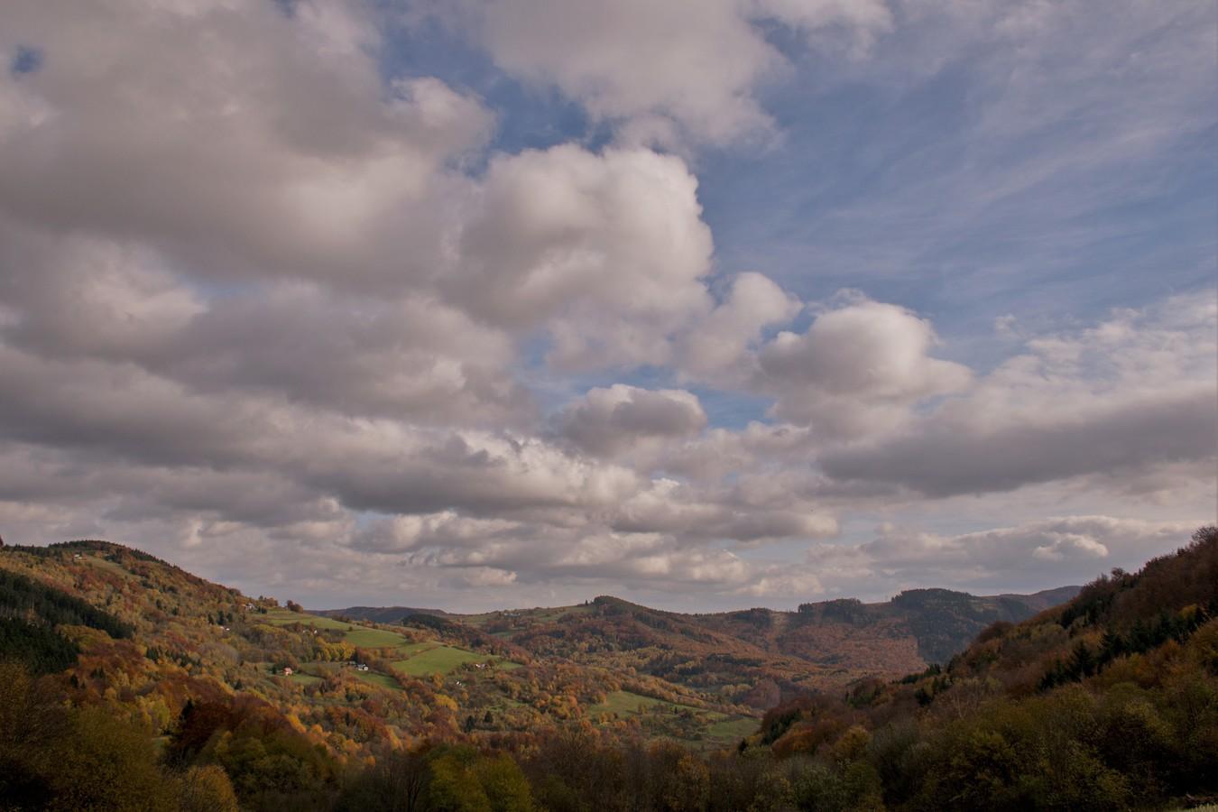 Podzimní Karpaty