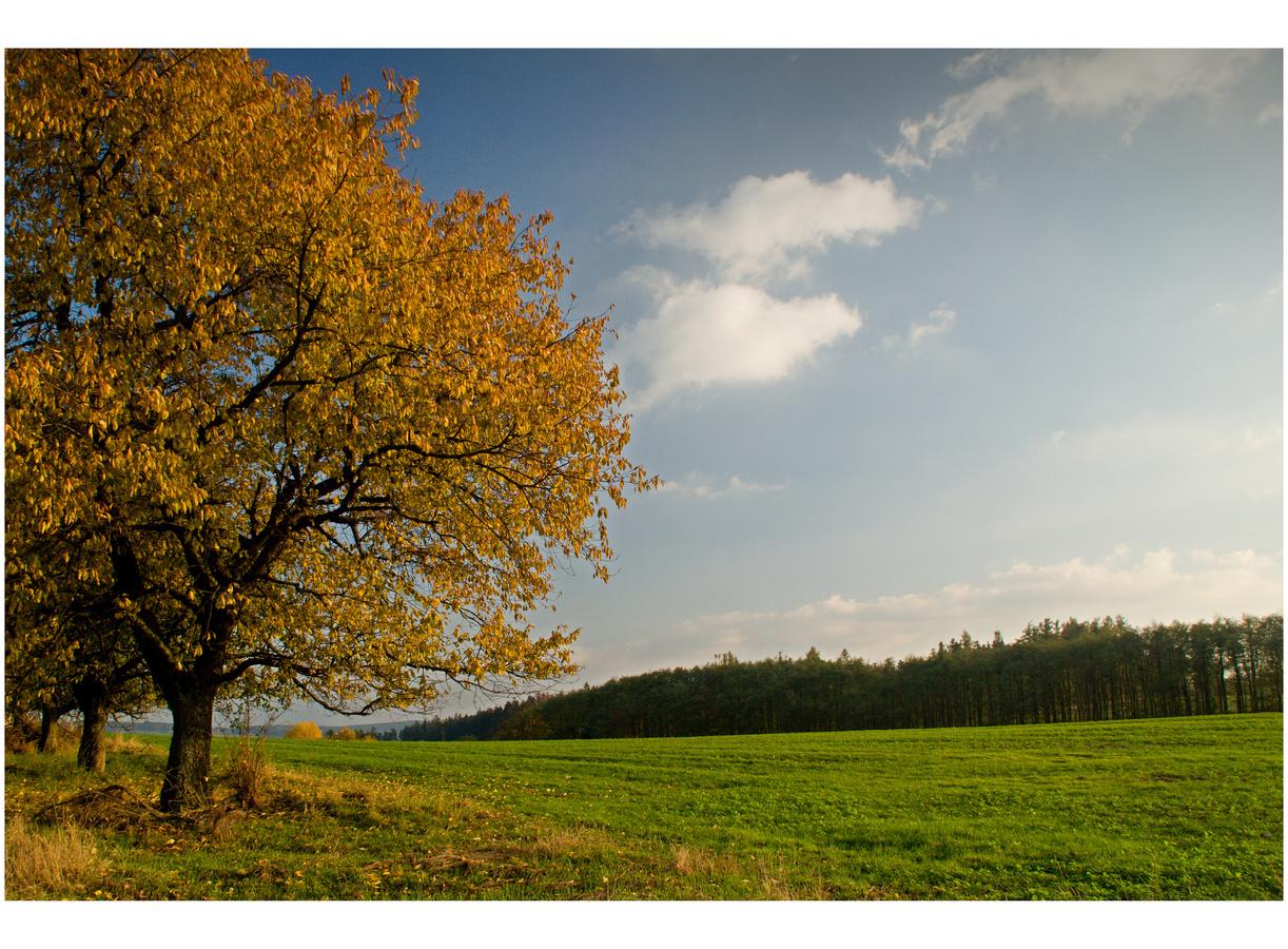 Podzim na moravském venkově....