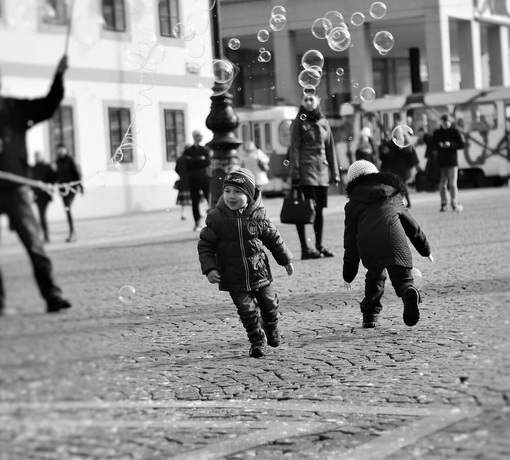 bubliny s dětmi