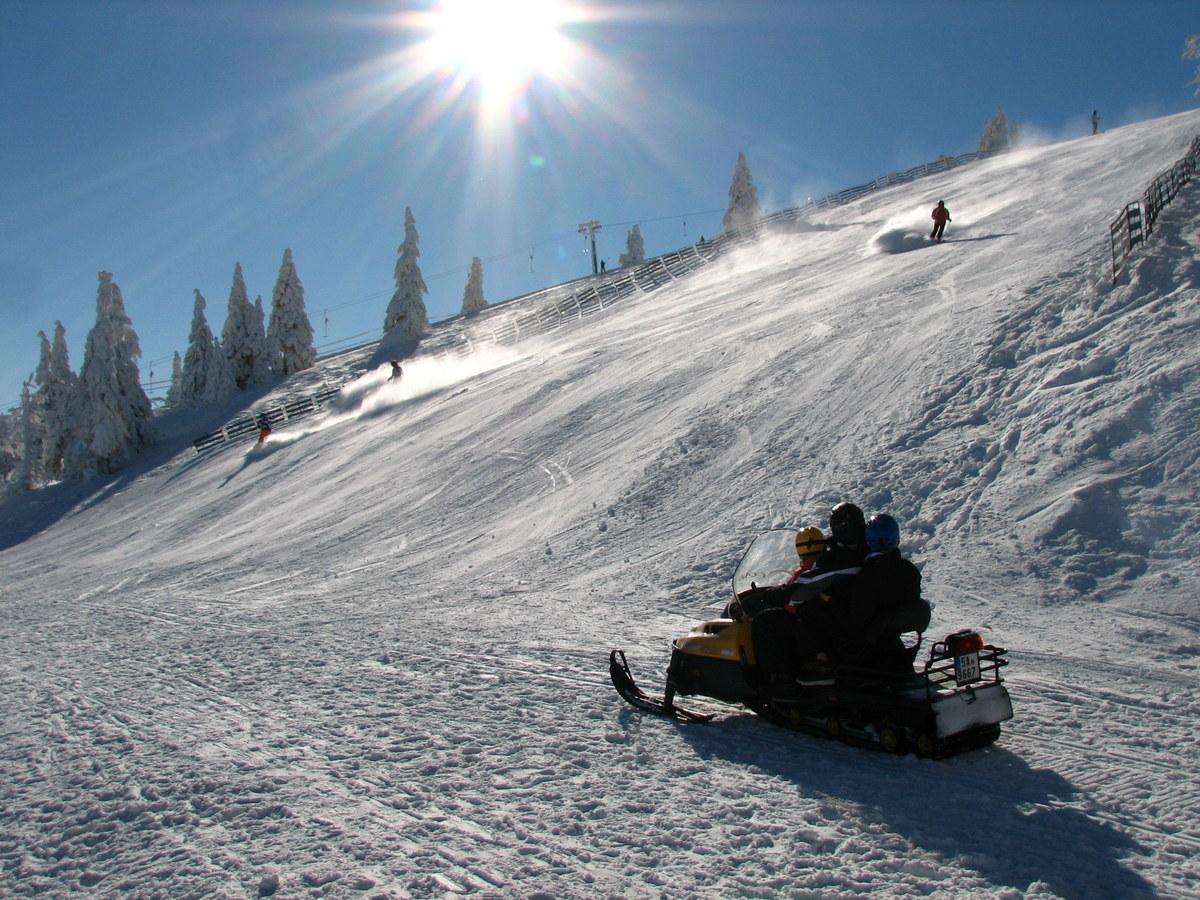 sněhová pohodovka