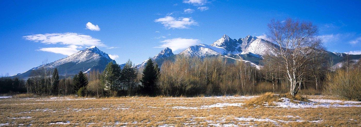 Tatranská zimná panoráma