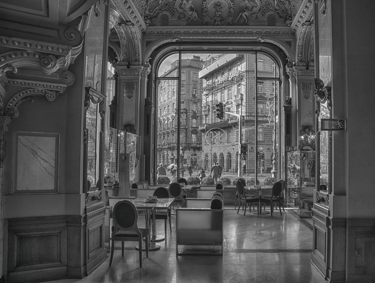 Výhled z kavárny New York cafe