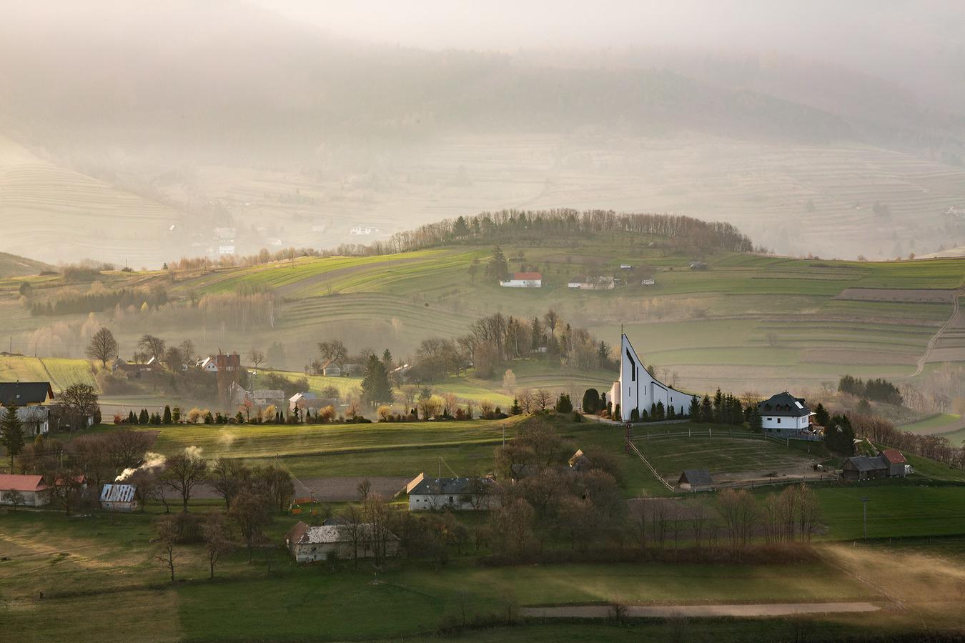 Ráno v Hriňovej