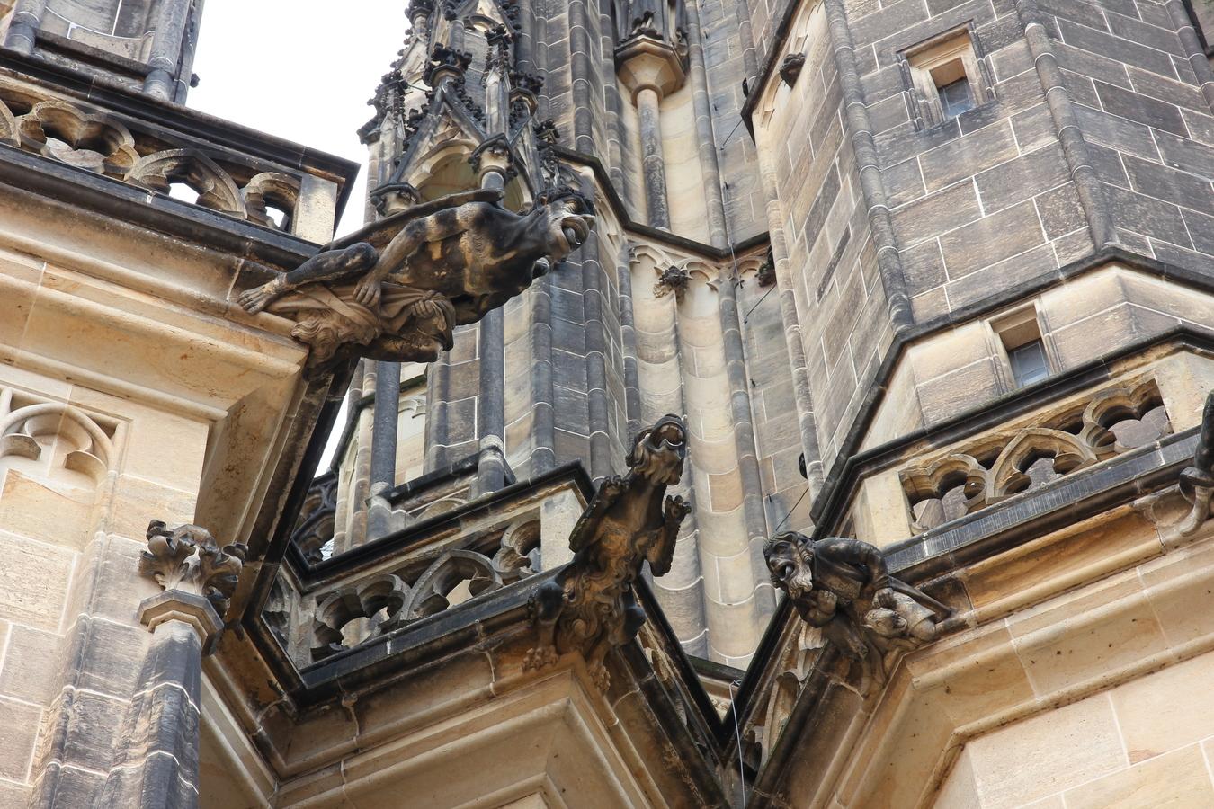 Chrliči na Katedrále svatého Víta
