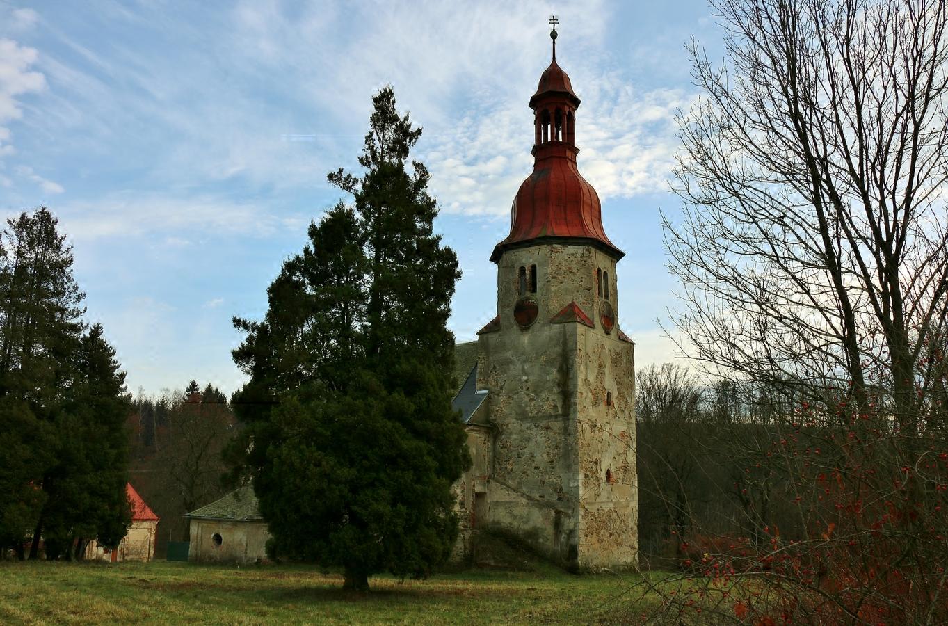 Kostelík v Horním Vítkově