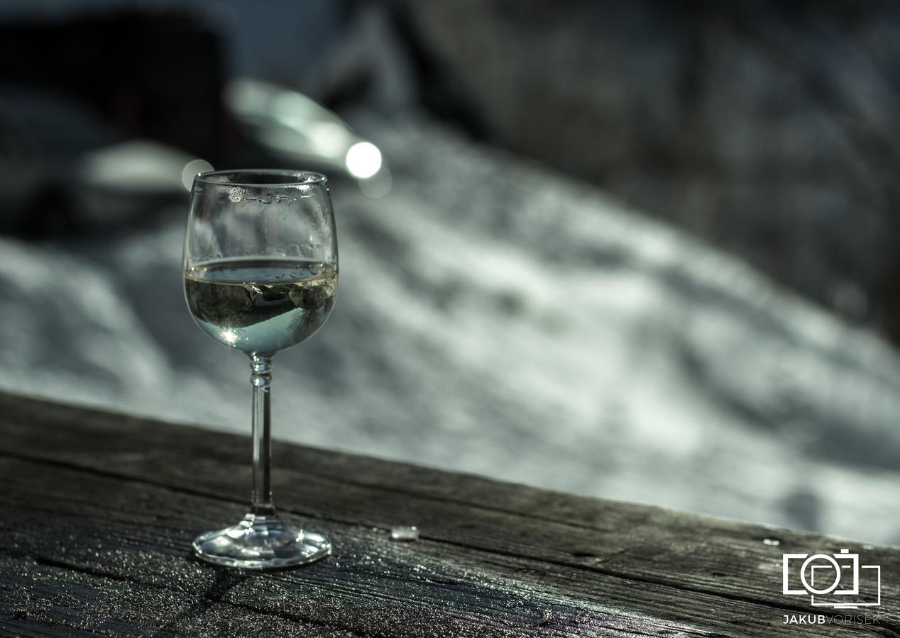 Chladná sklenice