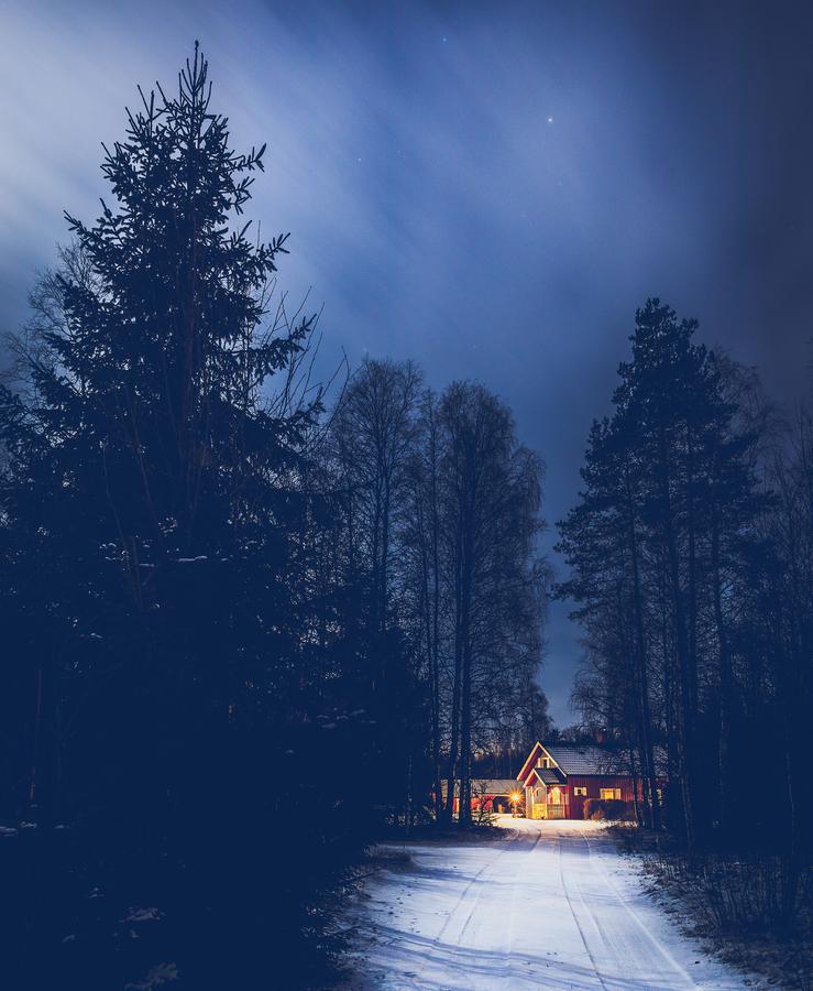 Půlnoc na švédsko-norském pohraničí