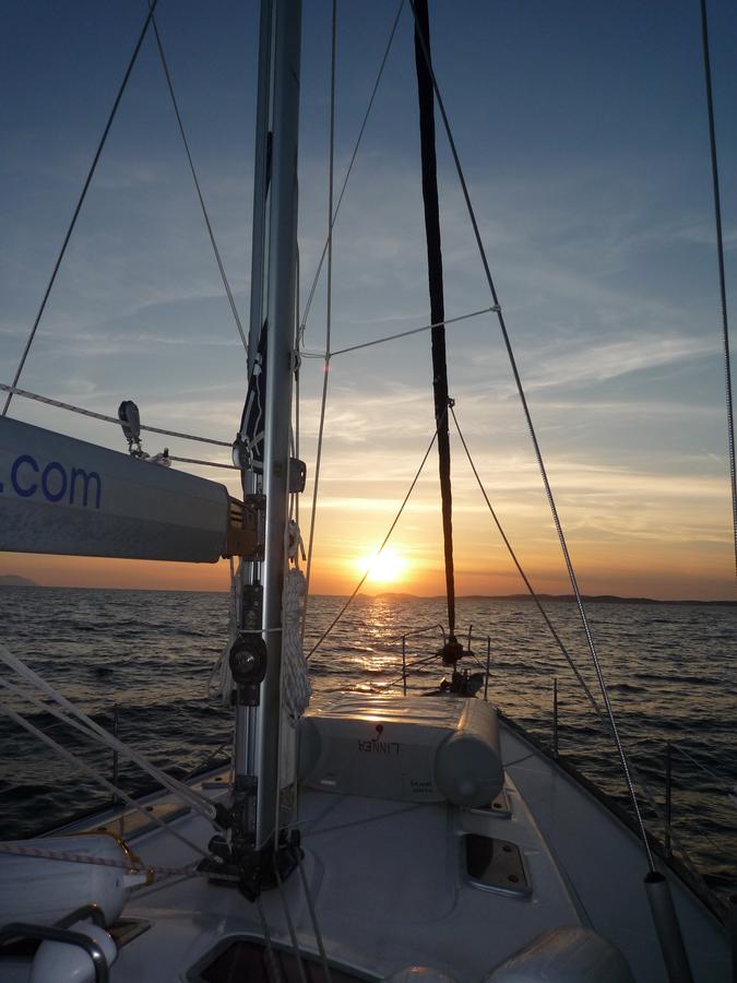 Západ slunce na Jaderském moři