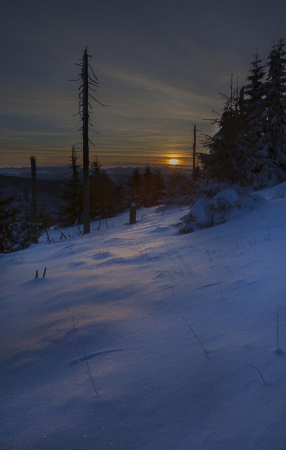Beskydské svítání