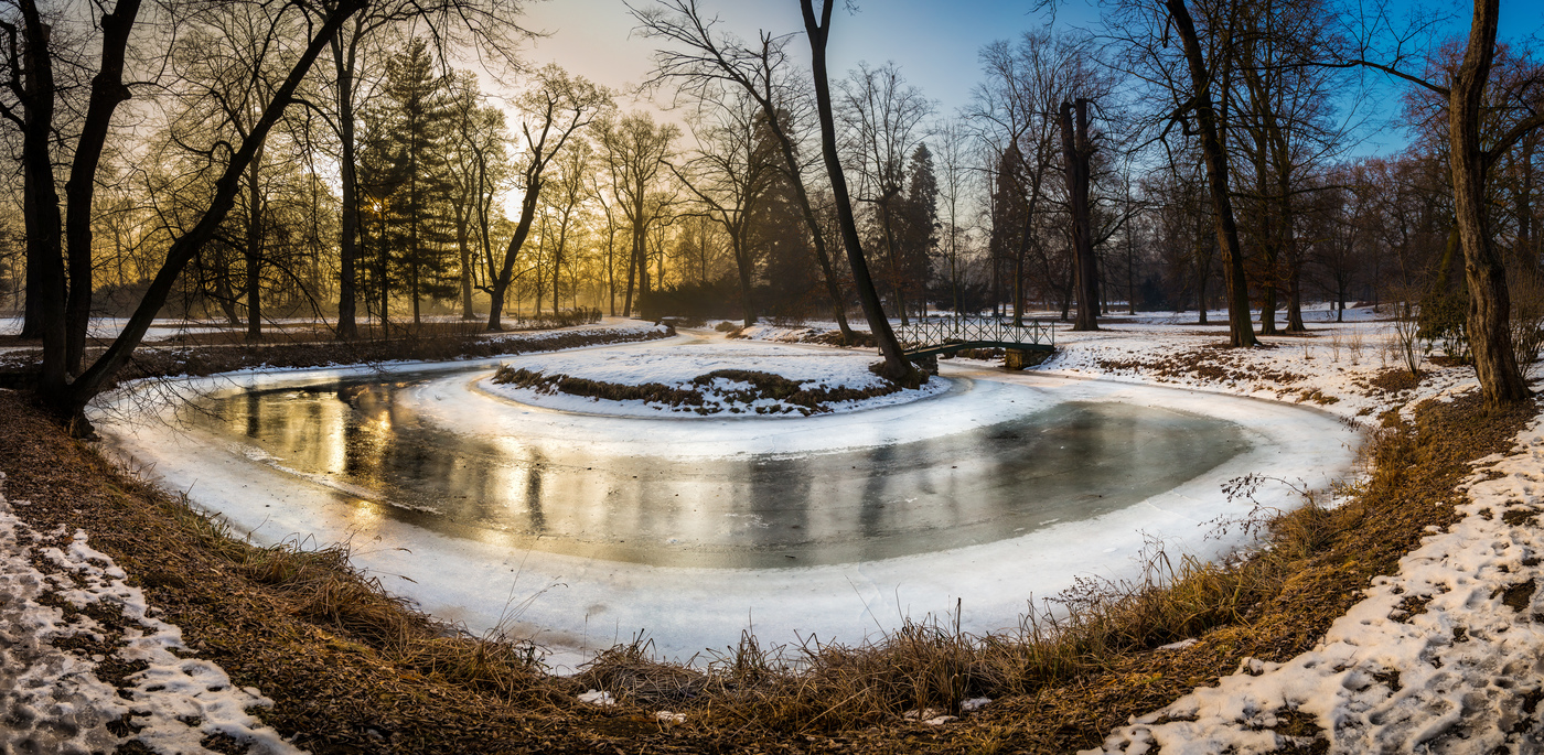Zámecký rybníček